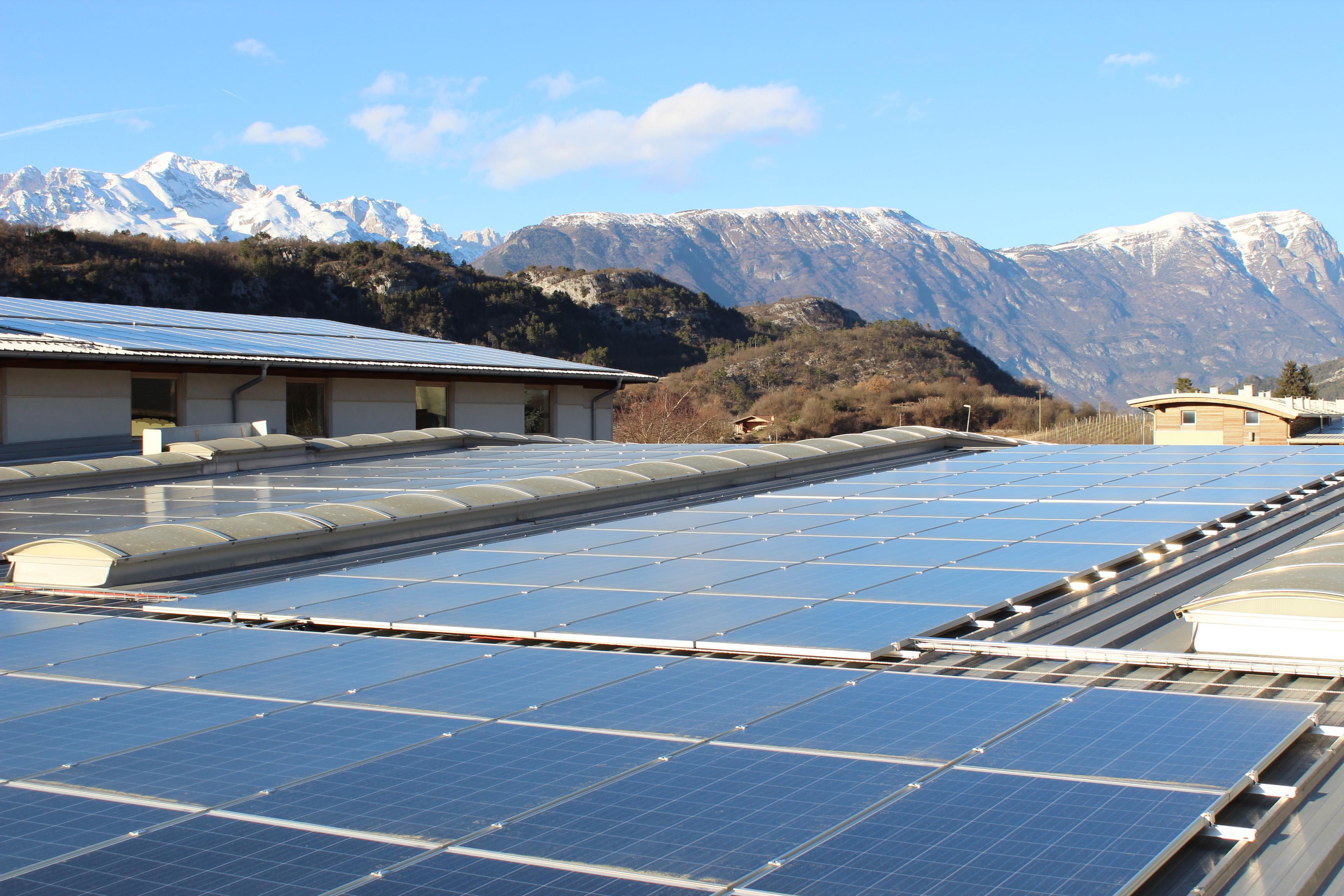 Essepi ed Elettropiemme impianti solari Trentino