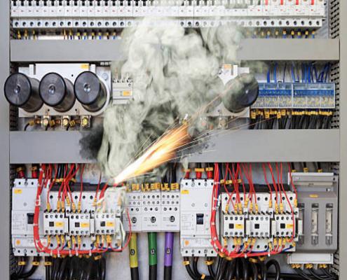 incendio quadri elettrici elettropiemme